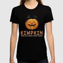 Halloween Kimpkin Funny _ Kimpkin Funny Kim Jong Halloween T-shirt