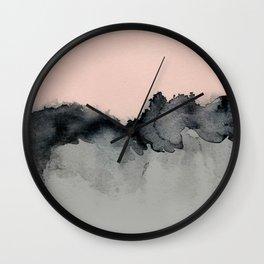 Smoky Quartz Wall Clock