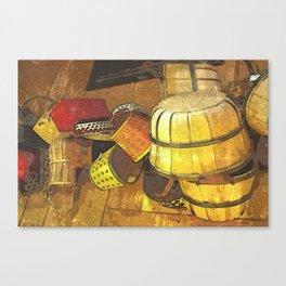 A Tisket A Tasket DPPA151019a Canvas Print