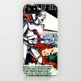 THE END OF HIS SERVICE (1940) iPhone Case