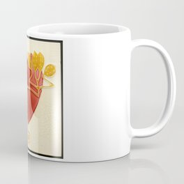Art Nouveau Heart Coffee Mug