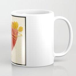 Art Nouveau Heart Coffee Mug
