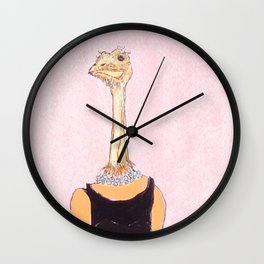 OSTRICH-Golightly  Wall Clock