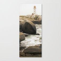 Peggy's Cove Lighthouse Canvas Print