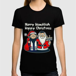 Happy Jewish Christmas Santa Fan And Jew Gift T-shirt