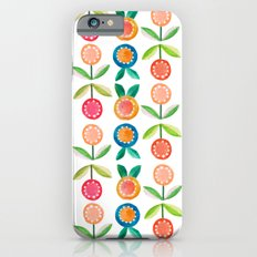 Water colour flowers iPhone 6s Slim Case