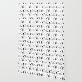 Cat Butts Pattern Wallpaper