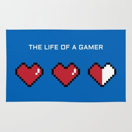 The Life of a Gamer Rug
