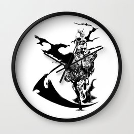 Celty & Shooter Wall Clock