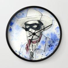 The Lone Ranger Wall Clock