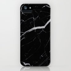 Black Marble Slim Case iPhone (5, 5s)