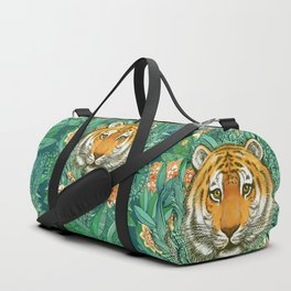 Tiger Tangle in Color Duffle Bag