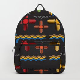 Albuquerque Night Colors Backpack