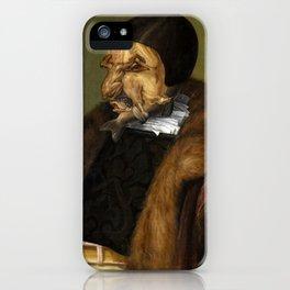 "Giuseppe Arcimboldo ""The jurist"" iPhone Case"