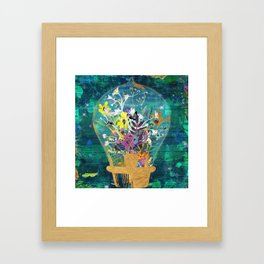 Life Under The Dome Framed Art Print