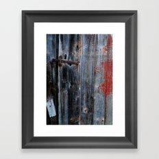 latch Framed Art Print