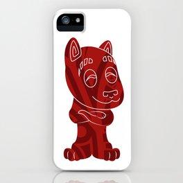 Tiki Dog iPhone Case