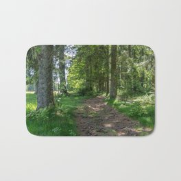 Hiking Trail - Landscape Photography Bath Mat