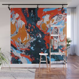 Abstract artistic painting Wall Mural