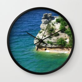 Castle of the Seas Wall Clock