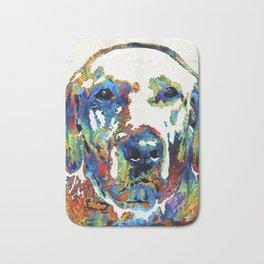 Labrador Retriever Art - Play With Me - By Sharon Cummings Bath Mat
