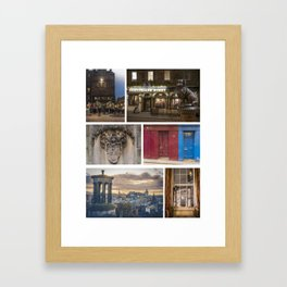 I LOVE EDINBURGH ! Framed Art Print