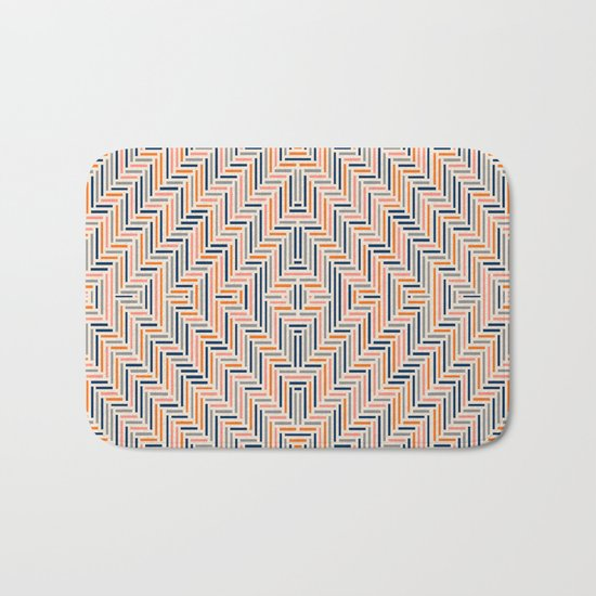 Herring Cream Bath Mat