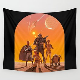 Space Opera Concept Wall Tapestry
