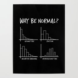 Why Be Normal, When Hypergeometric is Great Too? Poster