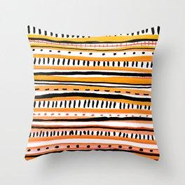 Sketchbook Bink 10 warm Throw Pillow