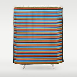 Straight Laced Shower Curtain
