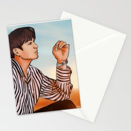 Sunset Jungkook Stationery Cards