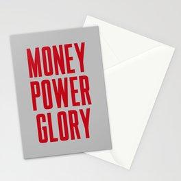 Money Power Glory Stationery Cards