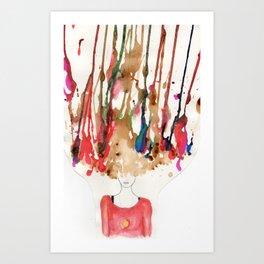 Over-creative Art Print