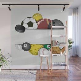 Balls Wall Mural