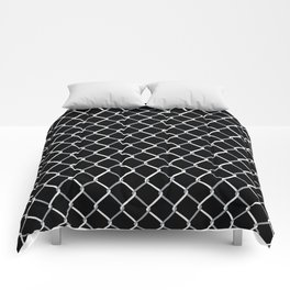 Chain Link on Black Comforters