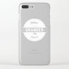 Granger Optical Repair Clear iPhone Case