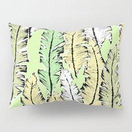 mint tropical Pillow Sham