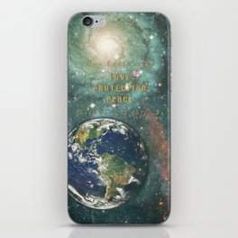 Our Earth iPhone Skin