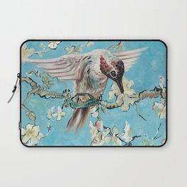 Almond Blossom with Hummingbirds II Laptop Sleeve