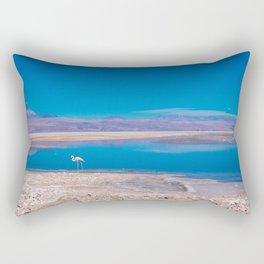Flamingos in the Desert, San Pedro de Atacama, Chile Rectangular Pillow