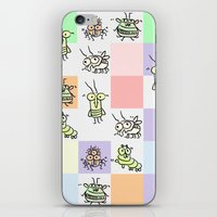 bugs iPhone & iPod Skins featuring Bugs by Scribblebro