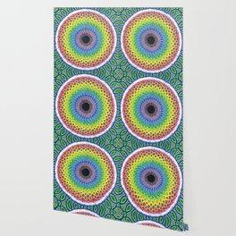 Cosmic Sunflower Wallpaper