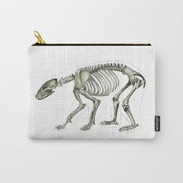 Bear Skeleton: Anatomy and Zoology Carry-All Pouch