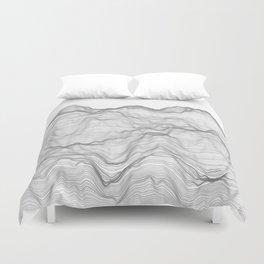 Soft Peaks Duvet Cover