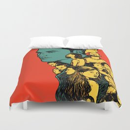 All those beautiful girls and boys Duvet Cover