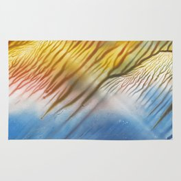 The Wind - abstract landscape watercolor Rug