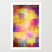 carnival Art Prints featuring Carnival by SensualPatterns