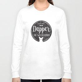 Dapper Slightly Distressed Long Sleeve T-shirt
