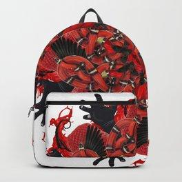 red halloween mandala Backpack